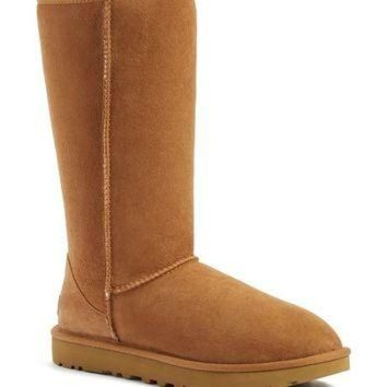 DCCK8X2 UGG? 'Classic II' Genuine Shearling Lined Tall Boot (Women) | Nordstrom