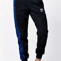 adidas Blue Floral Cuffed Track Pants at PacSun.com