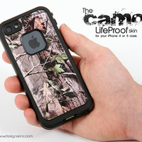 The Real Woods and Trees Camouflage Skin for the iPhone 5 or 4/4s LifeProof Case