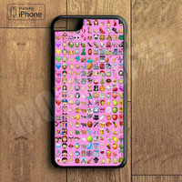 2 Emoji Grid Collage Phone Case For iPhone 6 Plus For iPhone 6 For iPhone 5/5S For iPhone 4/4S For iPhone 5C iPhone X 8 8 Plus