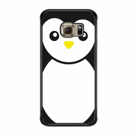 Penguin Black And White Samsung Galaxy S6 Edge Case