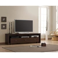 "Techni Mobili Palma TV Stand with 3 Drawers, for TVs up to 70"", Multiple Finishes - Walmart.com"