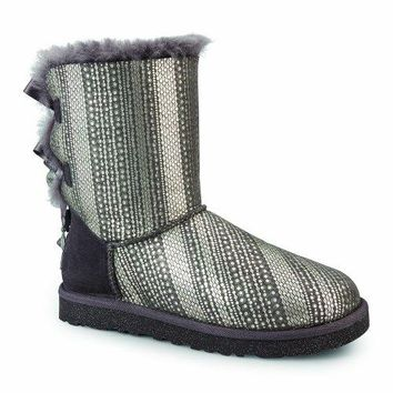 UGG Women's Bailey Bow Bling Boots  UGG Kids' I Jesse Bow Boot  UGG boots with bows