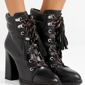Sam Edelman - Sondra lace-up leather ankle boots
