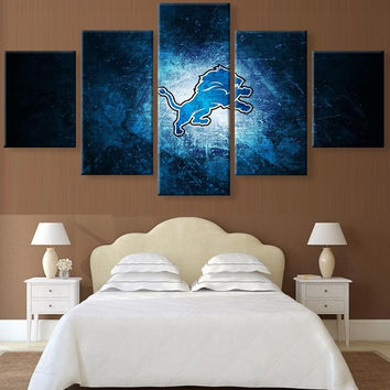 NFL lions wall art for home