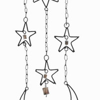 "Benzara 34""H Beautifully Crafted High Quality Metal Wind Chime Hanger"