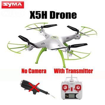 Original SYMA X5HC X5HW Drone Without Camera Parts RC Quadcopter With Remote Control Transmitter Retail Packaging
