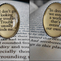 Harry Potter Quote Ring Geek Cute Brass by priestessalem on Etsy