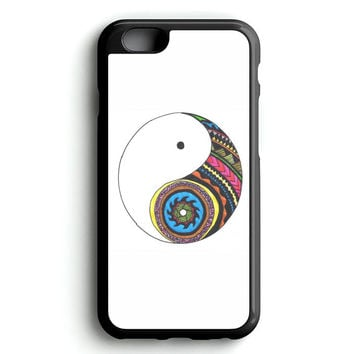 yin and yang art iPhone 4s iphone 5s iphone 5c iphone 6 Plus Case | iPod Touch 4 iPod Touch 5 Case
