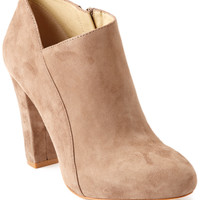 "Some of you have to get in on this: Carolinna Espinosa ""Cynthia"" Suede Bootie"