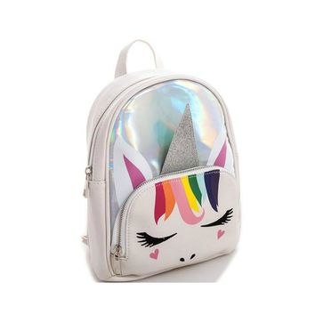 Sparkle Puss Unicorn Backpack