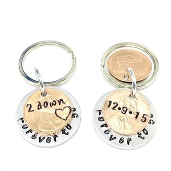 2 Year Dating Anniversary Gift Ideas For Him or For Her - Personalized