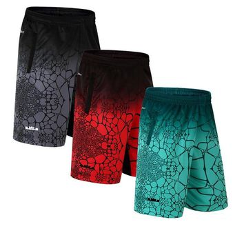 LeBron James Basketball Shorts Elastic Sports Jersey Basket Sportswear Loose Sport Men's Shorts with Zipper