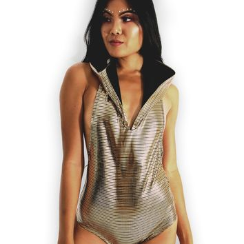 Electro One-Piece Bodysuit