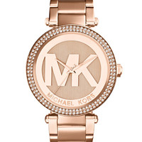 Michael Kors Women's Parker Rose Gold-Tone Stainless Steel Bracelet Watch 39mm MK5865 - Women's Watches - Jewelry & Watches - Macy's