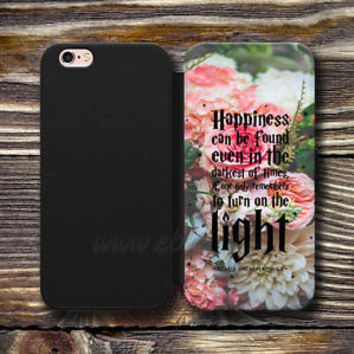 Harry Potter Quote Wallet iPhone case Happiness can be found Samsung Wallet Case