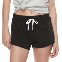 Juniors' SO® French Terry Shortie | null
