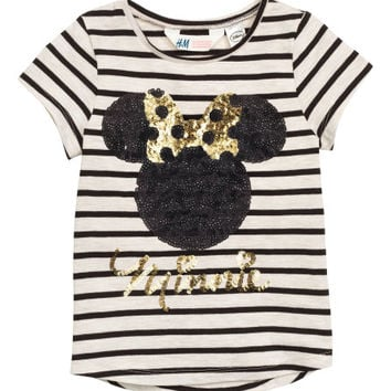 Top with Sequined Embroidery - from H&M