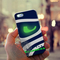 Seattle Seahawks Case for Iphone 4, 4s, Iphone 5, 5s, Iphone 5c, Samsung Galaxy S3, S4, S5, Galaxy Note 2, Note 3.