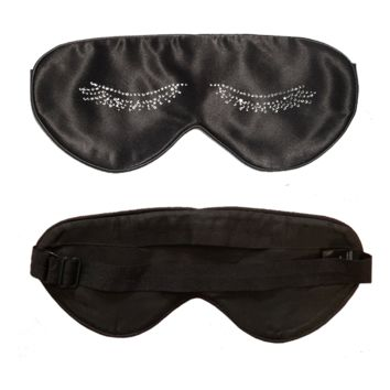 Rhinestone Lashes Lavender Scented Sleep Mask