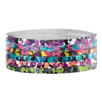 Under Armour Women's UA Graphic Mini Headbands One Size Fits All STROBE