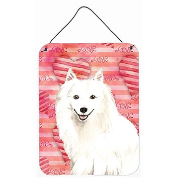 Love a Japanese Spitz Wall or Door Hanging Prints CK1764DS1216