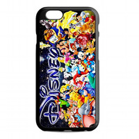 Disney Character Collage Princess For iphone 6s case
