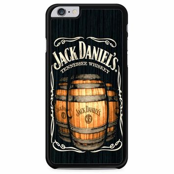 Jack Daniels On Black Wood 2 iPhone 6 Plus/ 6S Plus Case
