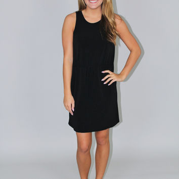 Black Knit Casual Dress - BCBGeneration