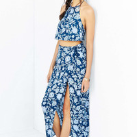 Kimchi Blue Lotus Maxi Skirt - Urban Outfitters