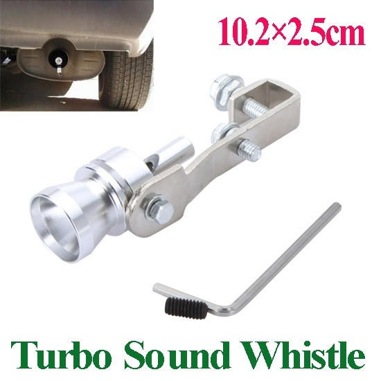Universal Turbo Exhaust Whistle: Universal Turbo Sound Whistle Exhaust From Dear Deer Fashion