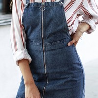 Mindy Jean Overall Dress