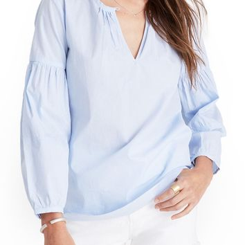 Madewell Pinstripe Blouse | Nordstrom