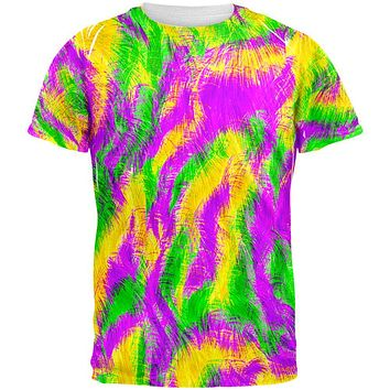 Mardi Gras Bourbon Street Monster Costume All Over Mens T Shirt