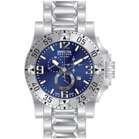 Invicta 15308 Men's Excursion Blue Dial Chronograph Stainless Steel Dive Watch