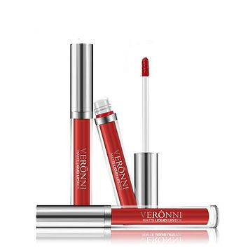 Color  matte  not stick the cup does not fade long lasting liquid lipstick