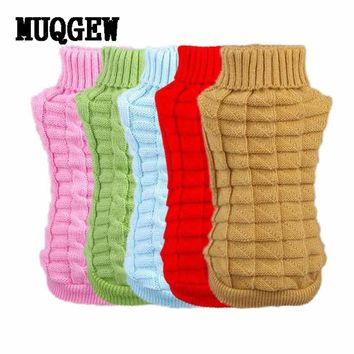 Dog Wool Knit Sweater