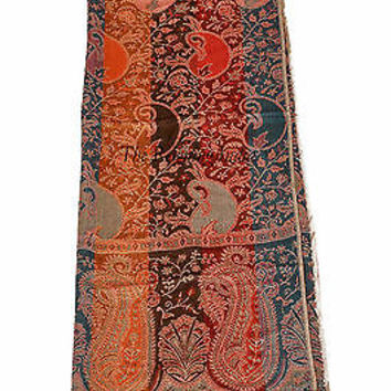Indian Cashmere Scarf Scarves & Shawls Pashmina Women Neck Wrap 0529