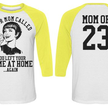 Personalize a Funny Softball Mom Baseball Jersey
