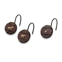 Avanti Animal Parade Shower Curtain Hooks (Set of 12)