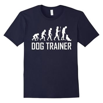Dog Trainer Evolution Funny Dog Training Shirt