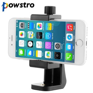 360 Degree Phone Holder Tripod Stick Cell Phone Stand Stabilizer Clip Clamp Adapter Clamp Mount Vertical Bracket for Smart Phone