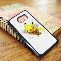 Pikachu Attack On Titan Samsung Galaxy S6 Edge Case