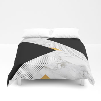 Classical Glorify Duvet Cover by cadinera