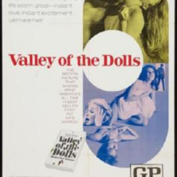 Valley Of The Dolls Poster 24inx36in