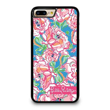 LILLY PULITZER CHARMS iPhone 4/4S 5/5S/SE 5C 6/6S 7 8 Plus X Case