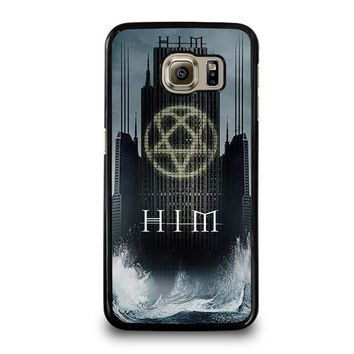 HIM BAND HEARTAGRAM Samsung Galaxy S6 Case Cover