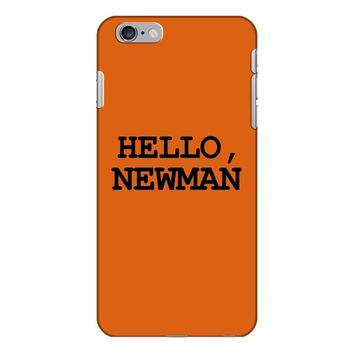 hello newman funny t shirt seinfeld vandelay tee s 3xl iPhone 6/6s Plus Case
