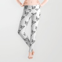 Love Music Infinite Leggings by RichCaspian