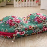 Portable Flower Travel Underwear Bra Bag Organizer Storage Box Containers Case